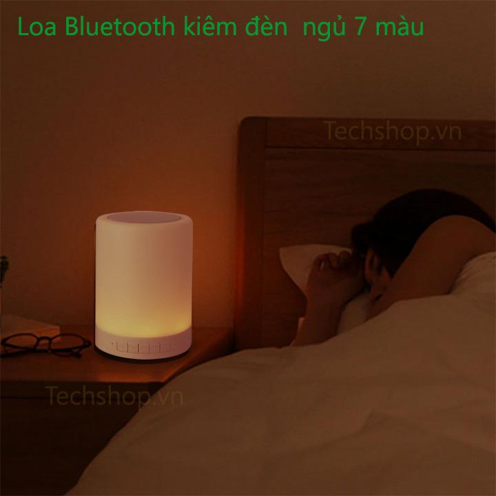 Sản phẩm vừa là loa bluetooth vừa là đèn ngủ tiện ích