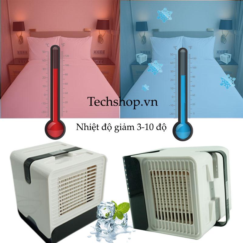 Quạt hơi nước sẽ làm giảm nhiệt độ