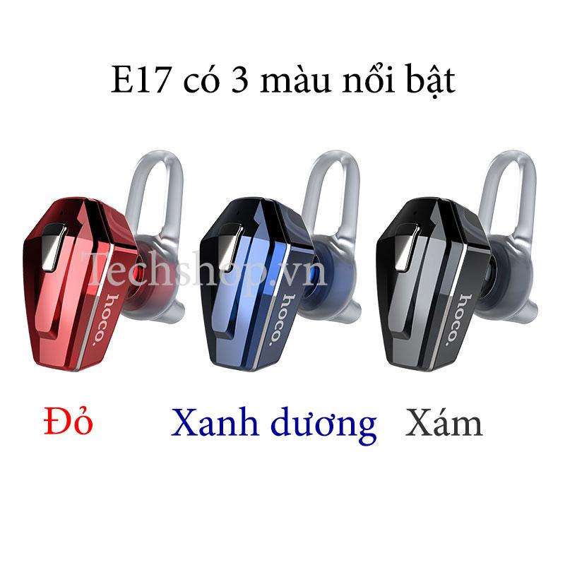 Tai nghe bluetooth E17 có 3 màu