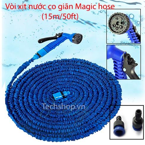 Vòi xịt nước co giãn Magic Hose 15m