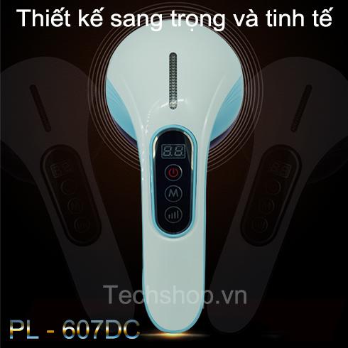 MÁY MASSAGE KHÔNG DÂY CẦM TAY PL-607DC - CÓ LCD HIỂN THỊ