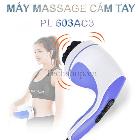 Máy massage cầm tay Puli PL-603AC3 loại 8 đầu