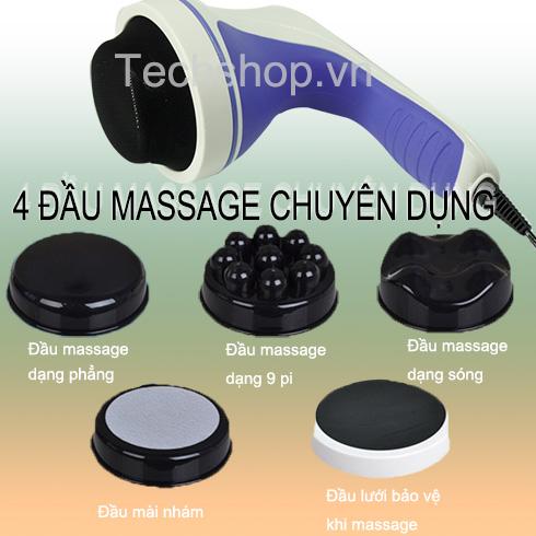Máy massage cầm tay Puli PL-603AC4 loại 4 đầu