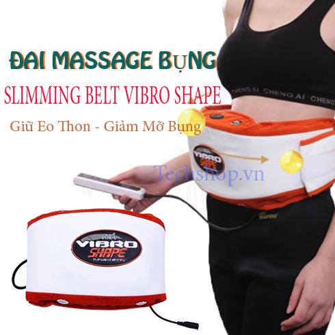 Đai massage giảm mỡ bụng Slimming Belt Vibro Shape