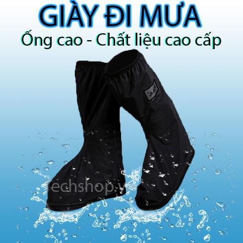 Bọc giày đi mưa - Giày đi mưa ống cao - Chất lượng