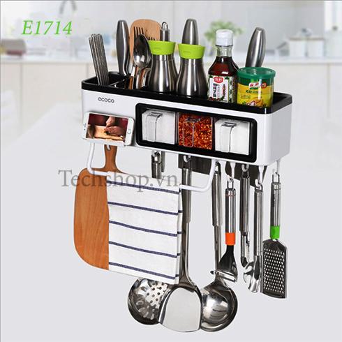 Kệ nhà bếp để hủ gia vị đa năng 7in1 ecoco e1714